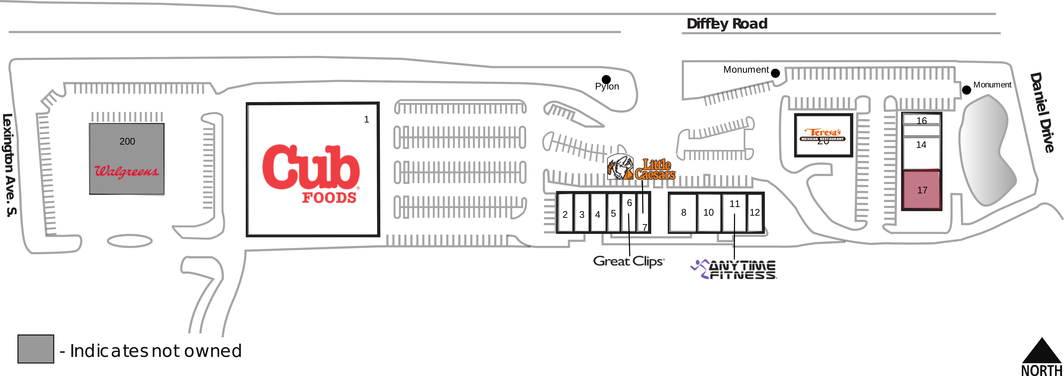 irc retail centers site plan